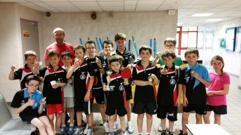 Joueurs du tournoi Poussins / Benjamins 2015