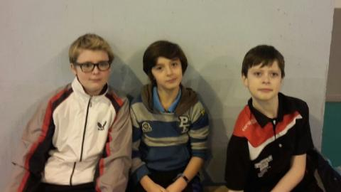 Loïc, Adam et Clément