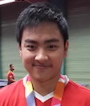 Antoine ZHAO, avec ses médailles aux championnats d'Europe 2014