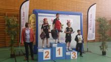 Podium du Top Détection du tableau né 1er semestre 2006