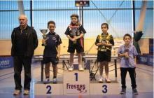 Lucas GREGOIRE sur le podium
