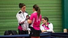 Coaching de Natacha sur Roxanna (crédit photo : Nicolas COUTURIER)
