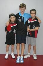 Lucas, Erwan et Solal (EPI 1 en -11ans)