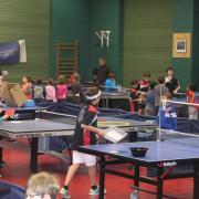 Journée Porte ouverte 2015 au club de tennis de table d'Issy
