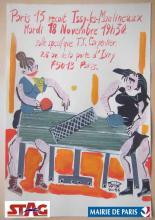 Affiche du match Paris XIII contre l'EPI