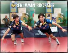 Benjamin BROSSIER se bat sur toutes les balles