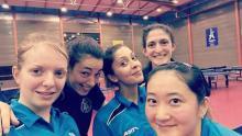 Laura, Natacha, Roxy, Perrine et Yanan