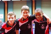Félix, Hugo et Mathis
