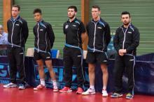 Ludovic, Alex, Mickaël, Enzo et Thomas