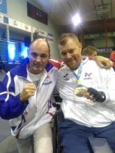 Fabrice Kosiak et Fabien Lamirault, champion du Monde