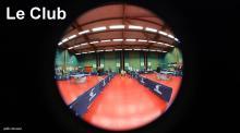 la salle de tennis de table de l'EPI au stade Mimoun d'Issy (92)